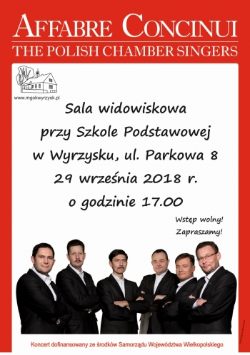 Affabre Concinui - The Polish Chamber Singers